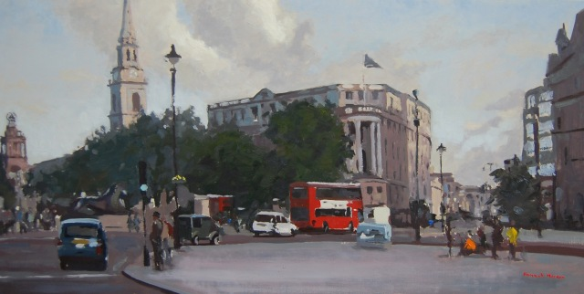 Hannah Merson - Trafalgar Square Towards St Martins & The Strand