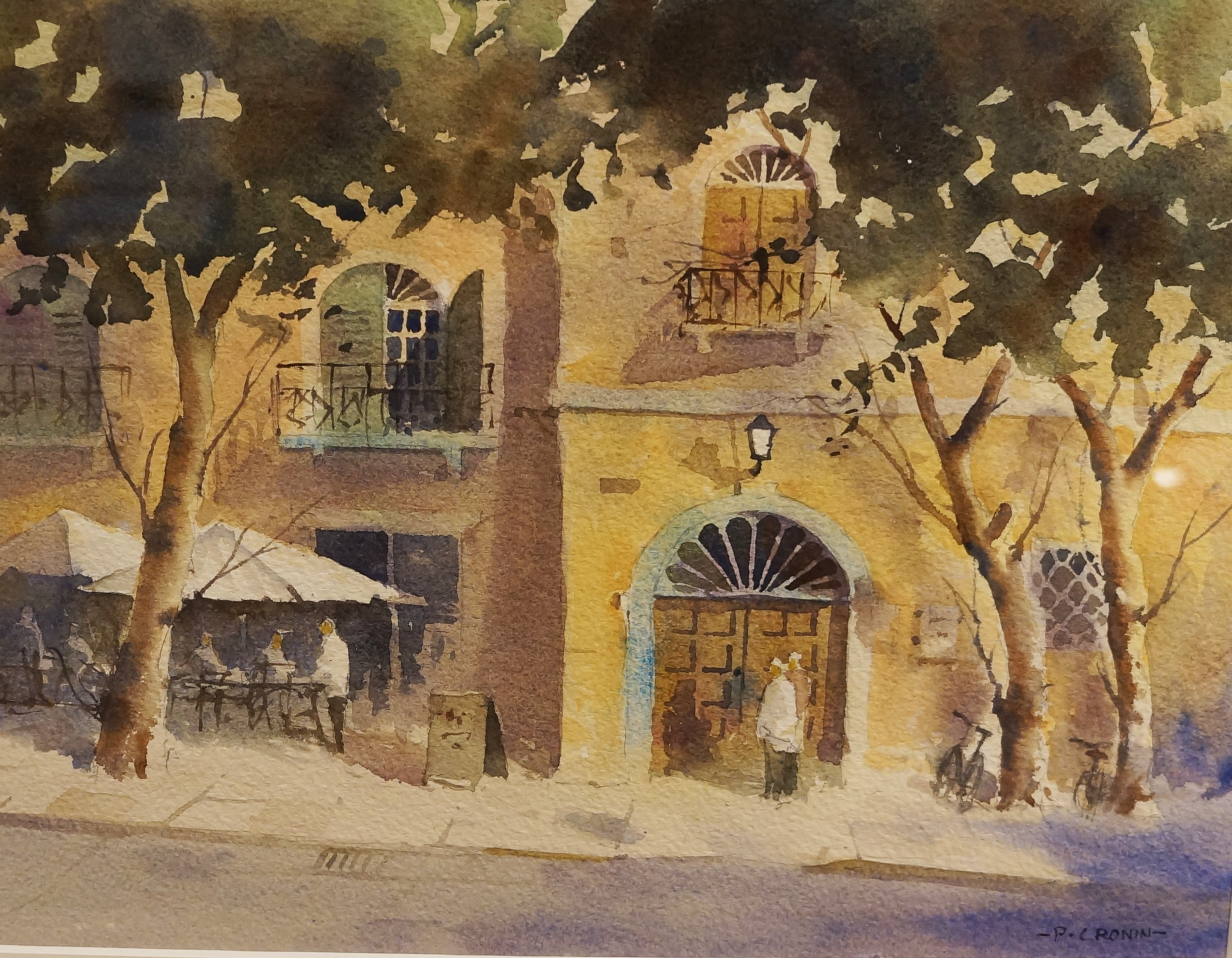 Peters The Spiritualist Tradition Peter Cronin Cafe Lucca Tuscany