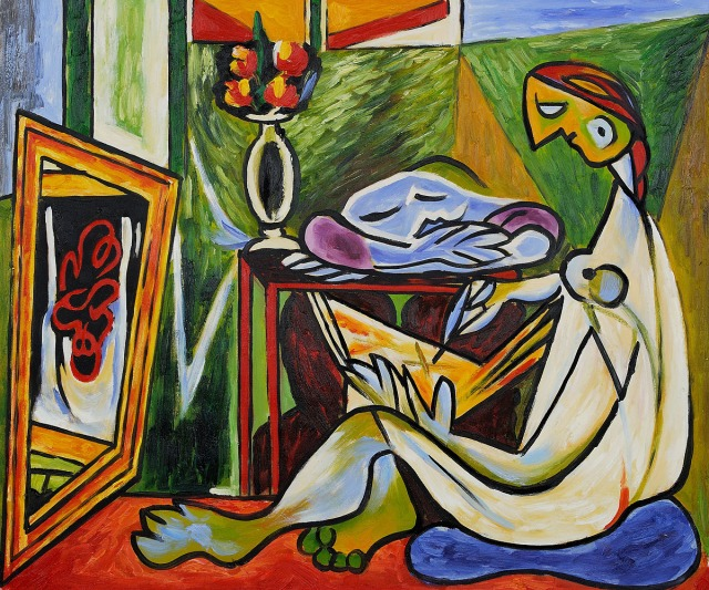 La Muse by Pablo Picasso