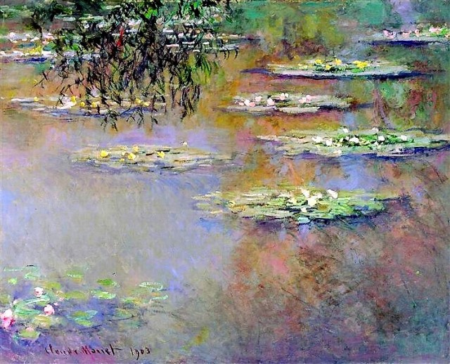 Claude Monet's Water Lilies