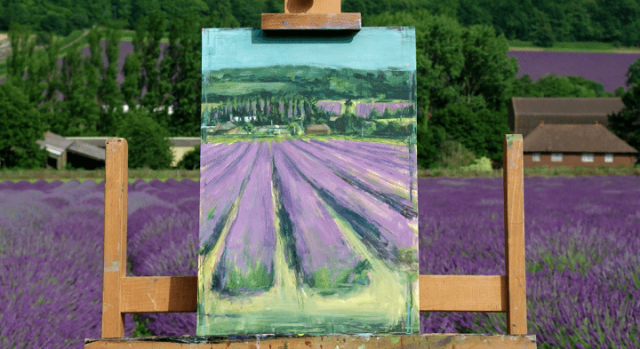 Tom Voyce - Lavender Field