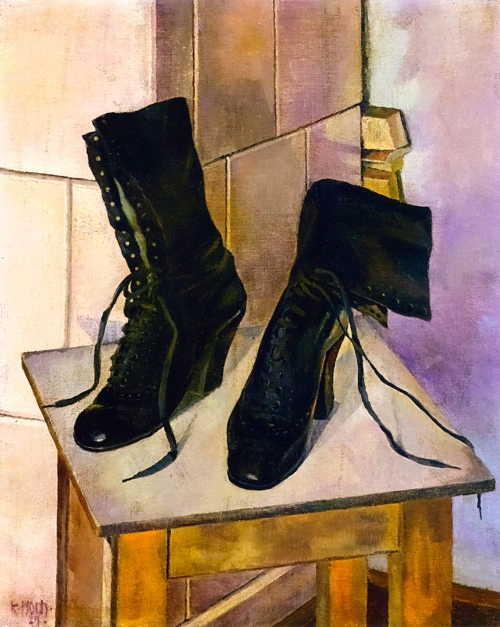 Kate Hock - Still Life with Boots 1967